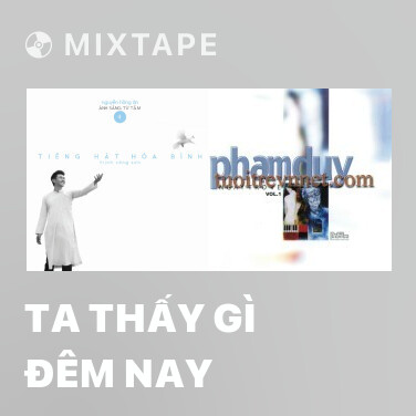 Mixtape Ta Thấy Gì Đêm Nay - Various Artists