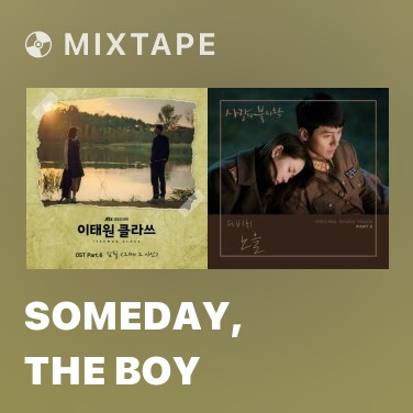 Mixtape Someday, The Boy - Various Artists