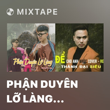 Mixtape Phận Duyên Lỡ Làng (HHD Remix) - Various Artists