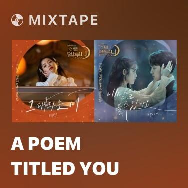 Radio A Poem Titled You