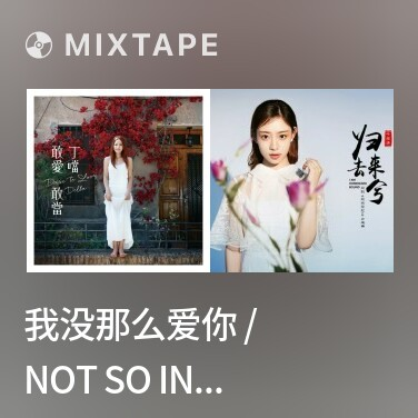 Mixtape 我没那么爱你 / Not So In Love / Em Không Yêu Anh Đến Thế - Various Artists