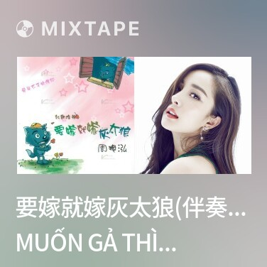 Mixtape 要嫁就嫁灰太狼(伴奏)/ Muốn Gả Thì Gả Thái Lang Xám (Nhạc Đệm) - Various Artists