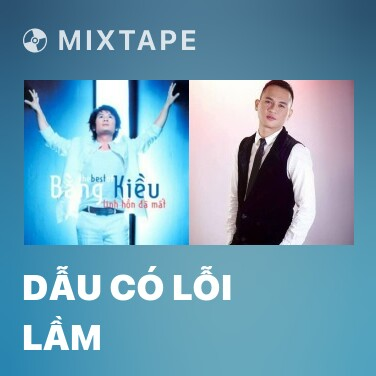 Mixtape Dẫu Có Lỗi Lầm - Various Artists