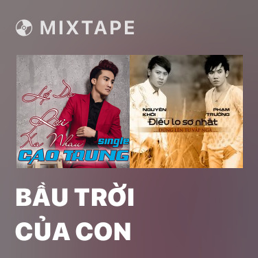 Radio Bầu Trời Của Con - Various Artists