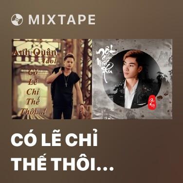 Mixtape Có Lẽ Chỉ Thế Thôi (Dj Thành Nguyễn ft. Ánh Chẫu Remix) - Various Artists