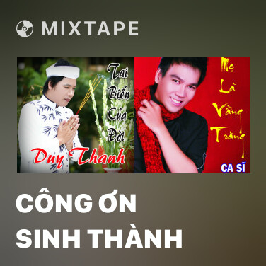 Mixtape Công Ơn Sinh Thành - Various Artists
