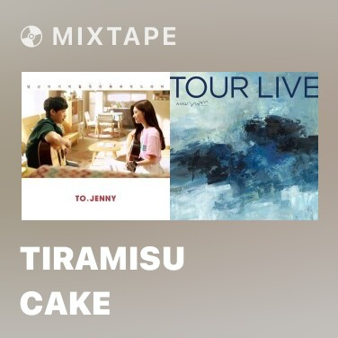 Mixtape Tiramisu Cake - Various Artists