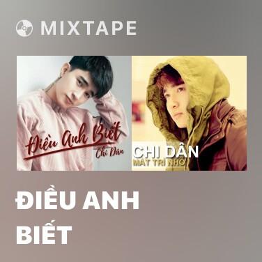 Mixtape Điều Anh Biết - Various Artists