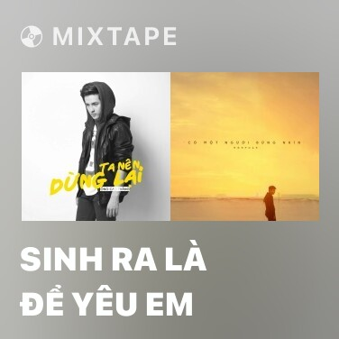 Mixtape Sinh Ra Là Để Yêu Em - Various Artists