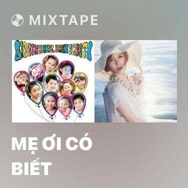 Mixtape Mẹ Ơi Có Biết - Various Artists