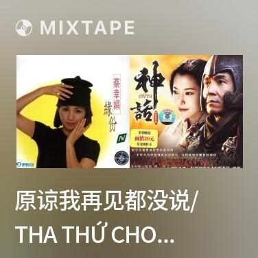 Mixtape 原谅我再见都没说/ Tha Thứ Cho Em Chia Tay Không Nói Một Lời - Various Artists