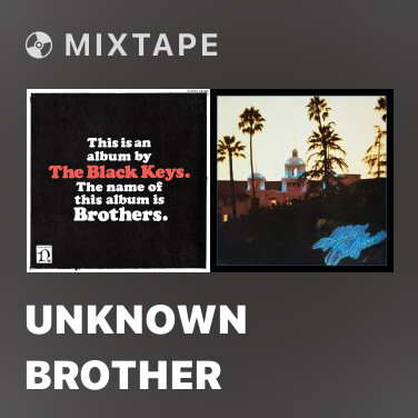 Mixtape Unknown Brother - Various Artists