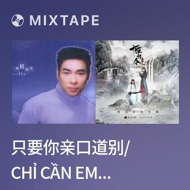 Mixtape 只要你亲口道别/ Chỉ Cần Em Đích Thân Nói Lời Từ Biệt - Various Artists