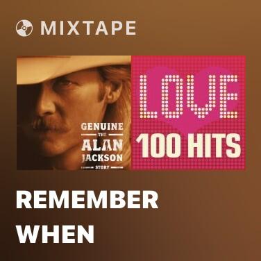 Mixtape Remember When - Various Artists