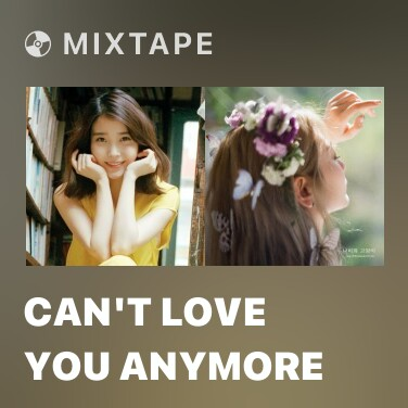 Mixtape Can't Love You Anymore - Various Artists