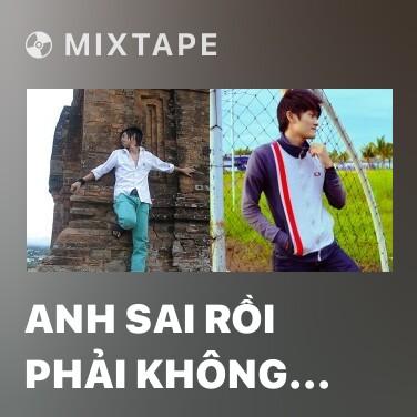 Mixtape Anh Sai Rồi Phải Không Em - Various Artists
