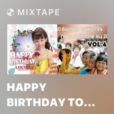 Mixtape Happy Birthday To You - Various Artists