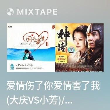 Mixtape 爱情伤了你爱情害了我 (大庆VS小芳)/ Tình Yêu Tổn Thương Em, Tình Yêu Tổn Thương Anh - Various Artists