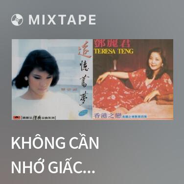 Mixtape Không Cần Nhớ Giấc Mộng Xưa / 旧梦不须记 - Various Artists