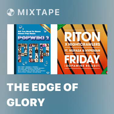 Mixtape The Edge Of Glory - Various Artists