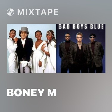 Mixtape Boney M - Various Artists