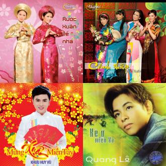 Album Nhạc Xuân Quang Lê -
